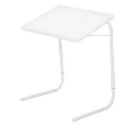 Table Mate Adjustable Solid Color Multi-Purpose Folding Table