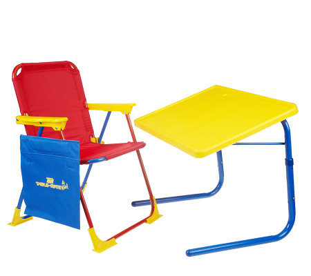 Table Mate Children's Table & Chair with Activity Pouch