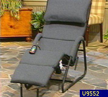 Homedics 10Motor Massaging Lounge Chair QVCcom
