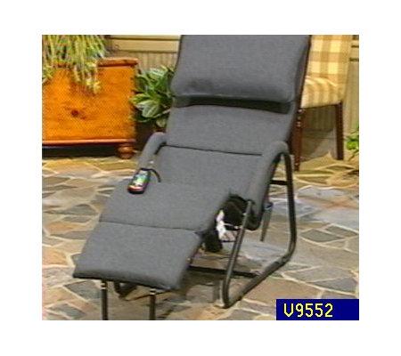 Homedics  10-Motor Massaging Lounge Chair  sc 1 st  QVC.com & Homedics