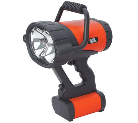 Black & Decker V3 Rechargeable Spotlight