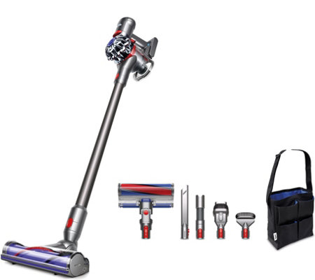 dyson v7 absolute pro cordfree vacuum w asst tools fluffy head page 1. Black Bedroom Furniture Sets. Home Design Ideas