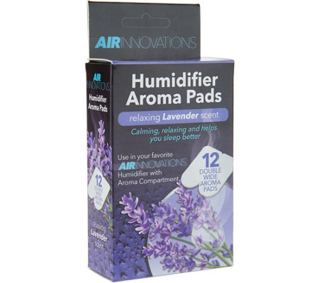 """As Is"" Air Innovations 12- pack Essential Oil Aroma Pads"