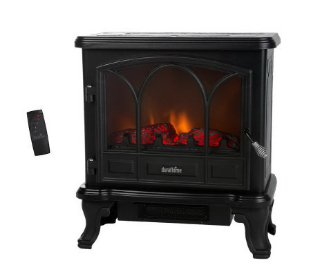 Duraflame 750W / 1500W Electric Stove Heater with Remote Control