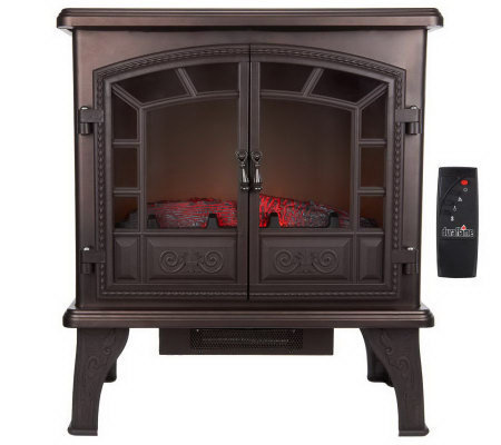 Duraflame Large Electric Stove Heater with Timer and Remote