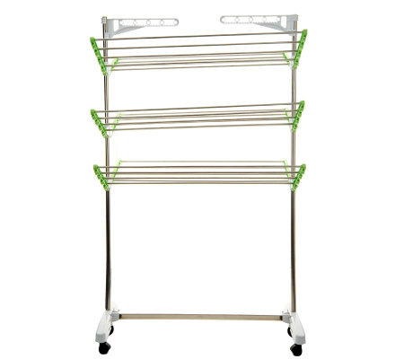 Green Rack High Capacity Foldable Drying And Storage