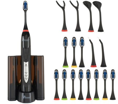 Pursonic Rechargeable Sonic Toothbrush with Accessories