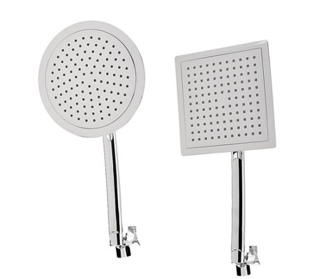 """As Is"" HotelSpa 9"" Large Round or Square Rainfall Shower Head"