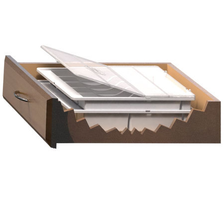 Drawer-Mate Dual Deck Ultimate Organizer with Sani-Lid