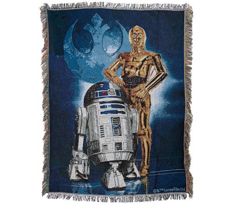 Star Wars Triple Woven Tapestry Blanket