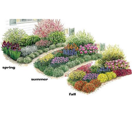 Spring hill three seasons of beauty garden for Spring hill nursery garden designs