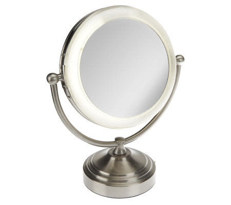 Floxite 8x 1x Ultimate Vanity Mirror W Focusedlight