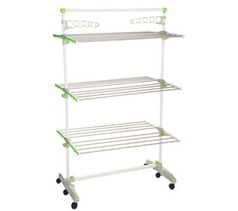 The Green Rack Hi Capacity Foldable Drying Rack Storage System - V33562