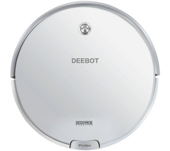 EcoVacs Deebot Robotic Floor Cleaning Vacuum w/Remote - V34662