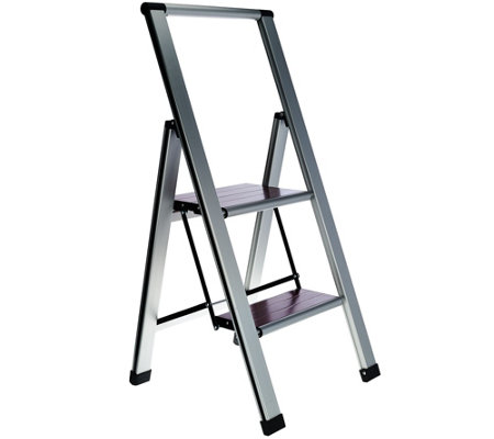 Ultimate Innovations Lightweight Folding 2-Step Ladder