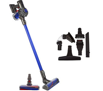 Dyson V6 Motorhead Pro Cordfree Vacuum w/Fluffy Head & 5 Attachments - V34364