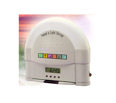Relaxor Sound and Light Therapy w/Alarm Clock