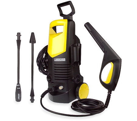 Karcher 1550 PSI Pressure Washer with VPS Wand & Rotary