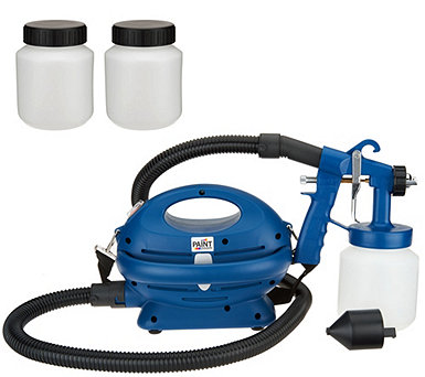 Paint Zoom Pro Paint Sprayer w/ 3 Paint Storage Containers - V34965