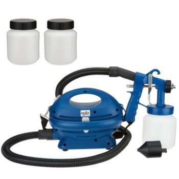Paint Zoom Pro Paint Sprayer w/ 3 Paint Storage Containers