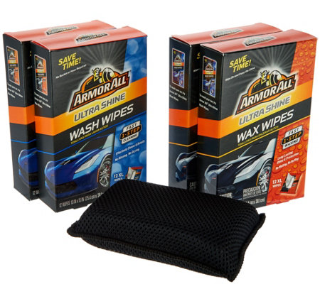 Armor All Ultra Shine Car Wash and Wax Wipes - Page 1 — QVC.com