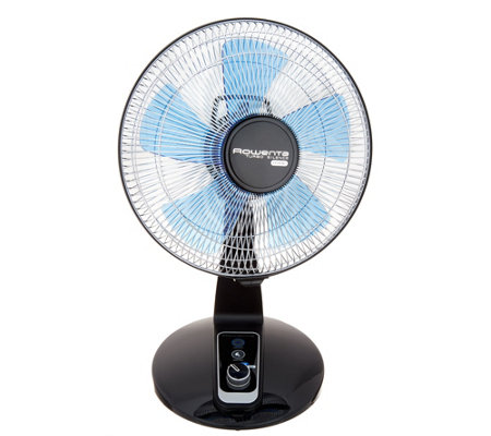 Rowenta 12 Quot Turbo Silence Extreme 5 Speed Table Fan Qvc Com