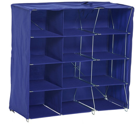 Pop-It Collapsible 12 Qube Organization Storage System