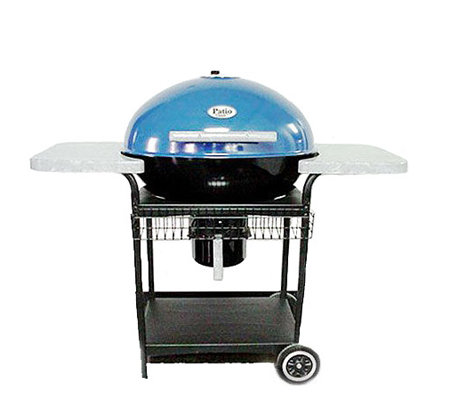 Exceptional Patio Classic 6000 Blue Charcoal Grill