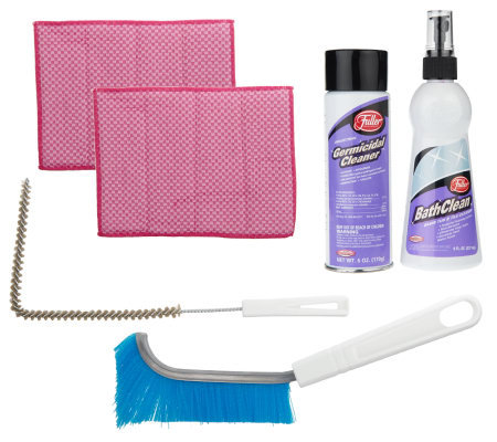Fuller Brush 6-Piece Bathclean Tub & Tile Cleaning Kit