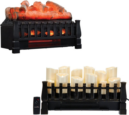 duraflame infrared quartz heater fireplace insert