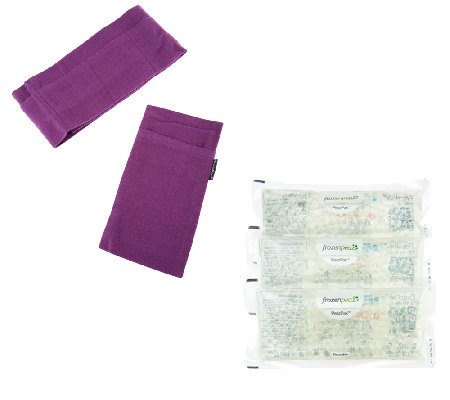 Hot or Cold Reusable Spa Neck Wrap And Eye Mask by FrozenPeaz