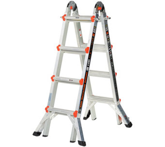Little Giant Helium 24-in-1 17' Multi- Function Ladder with Wheels - V34271
