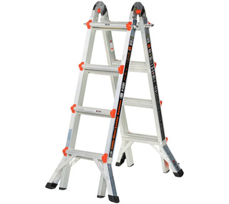 Little Giant Helium 24-in-1 17' Multi- Function Ladder with Wheels