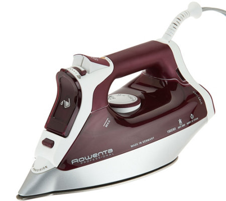 Rowenta Professional Microsteam 1800W Iron w/ 3D Soleplate ...
