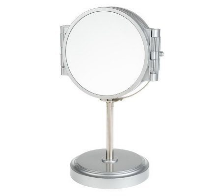 360-Degree View 5 Fold-OutPanel Vanity Mirrorw/ 5xMagnification FrontViewMirror