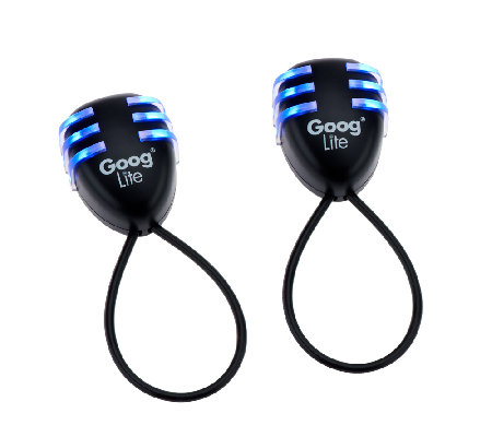 Set of Two Bright Blue Goog Lite LED Lights