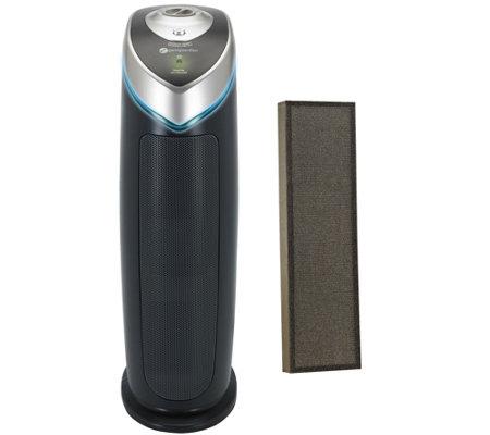 germguardian 3 in 1 hepa air purifier w uv c light. Black Bedroom Furniture Sets. Home Design Ideas