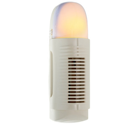 """As Is"" Air Innovations Plug-In Air Purifier w/Nightlight"