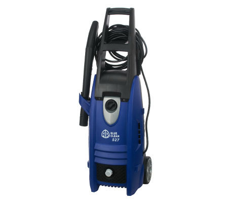 Blue Clean 1800 PSI Pressure Washer w/On-board Storage &Wheels