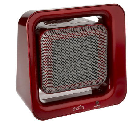 Duraflame Ceramic Tilting Desktop Heater with Adjustable Thermostat