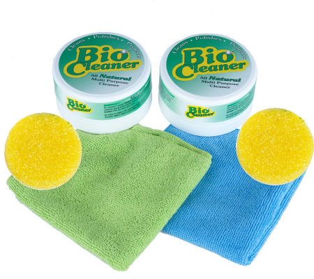 Bio Cleaner Multi-Purpose Cleaner and Microfiber 4-piece Kit