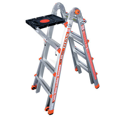 Little Giant 24 In 1 17 Ladder System With Wheels And
