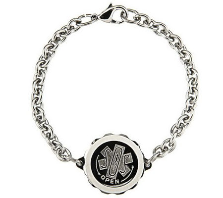 SOS Stainless Steel Emergency Medical ID Bracelet
