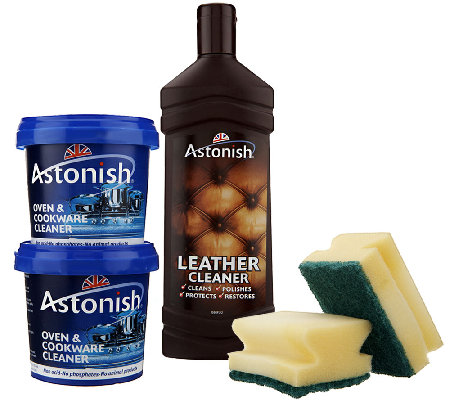 Astonish Multi-Purpose Cleaning Paste and Leather Cleaner Kit