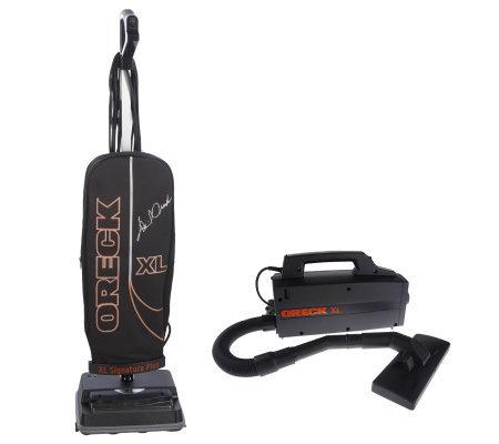 Oreck Xl Signature Plus Upright Vacuum W Handheld Canister
