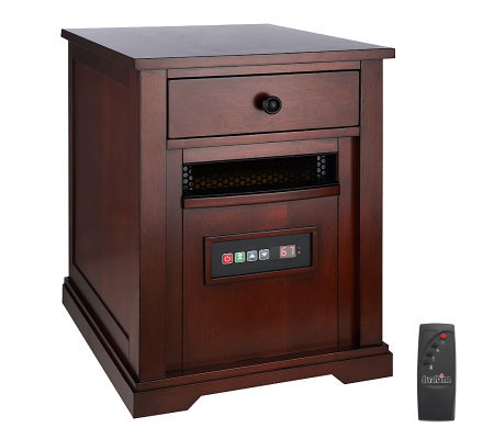 Duraflame Powerheat 1500W Infrared Quartz Heater w Timer & Remote