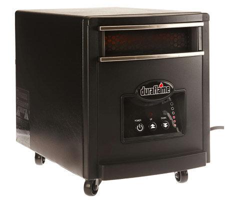 Duraflame Powerheat 1000w Infrared Quartz Heater With