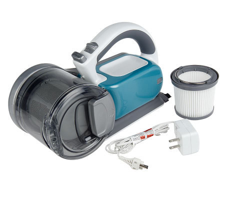 Black & Decker 18V Compact Pivot Hand Vacuum with Charging Base