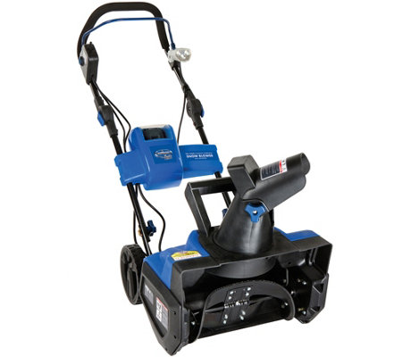 "Snow Joe 18"" Cordless 5-Amp Rechargeable Snow Blower"