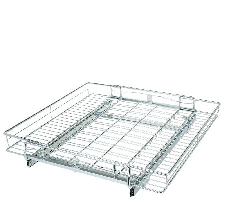 Pop It Adjustable Sliding Cabinet Organizer - Page 1 — QVC.com
